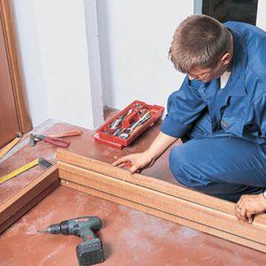 установка межкомнатных дверей цена за работу