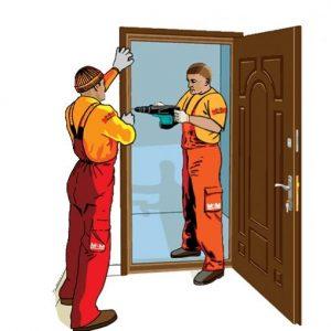 установка железных дверей москва