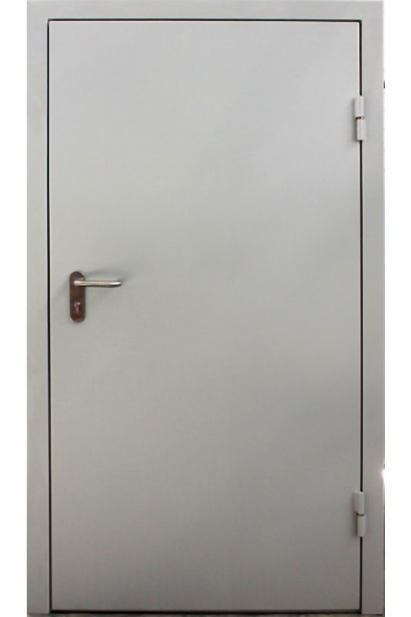 Противопожарная однопольная дверь от компании Комфорт-Сервис