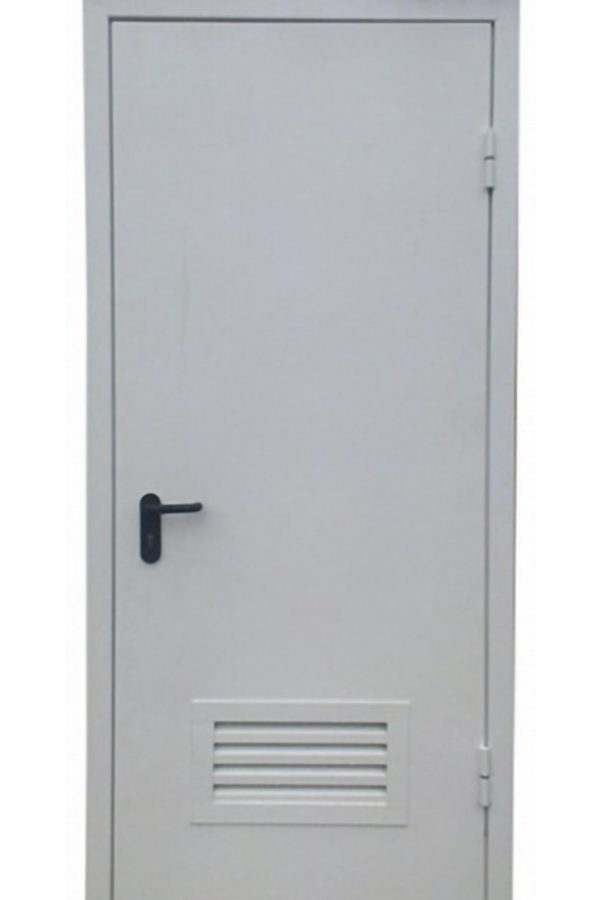 Техническая однопольная дверь от компании Комфорт-Сервис