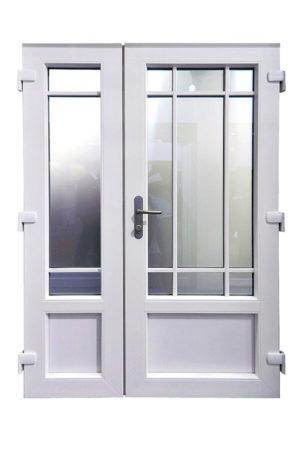 Входные пластиковые двери (ПВХ)
